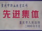 重庆市职业教育工作先进集体
